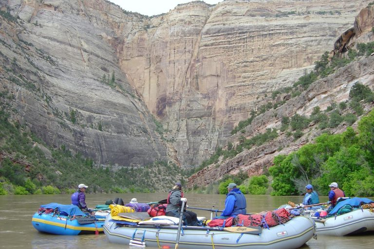 rafting on the yampa